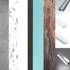 New Shower Wall Panels Pvc 1m Wide x 2.4m High 10mm Bathroom Wet Wall & Trims