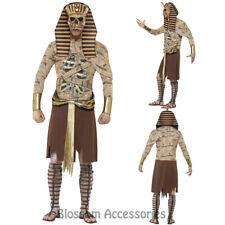 CL900 Zombie Pharaoh Egyptian Mummy Ancient Mens Horror King Tut Fancy Costume
