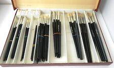 Pennello PELIKAN serie 615 a punta piatta in vera setola originale cinese TA336