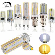 G9 G4 Mini LED Corn Bulb Dimmable Light E14 E12 6W 8W 10W 3014 SMD Lamp AC 110V