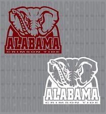 "2 Alabama Crimson Tide Cornhole Decals LARGE 12x10"" Baggo Bean Bag Stickers"