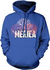 'Merica USA United States Of America Fireworks Fourth July US Hoodie Sweatshirt