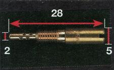 Mikuni - Gicleur de ralenti MKU de 10 à 70 (ref: MKUxxx) ou (KYS-060xxx)