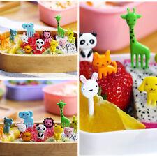 Niños Estilo De Animales Lindo Mini Frutas Tenedores De Fácil De Transportar