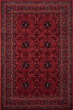 Kashqai 4302/300 HIGH QUALITY Red Rust  Nomadic Tribal Design Rug Wool S-XXL