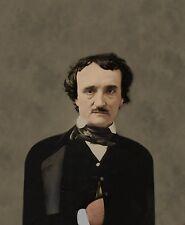 Edgar Allan Poe author color photo - 03940601