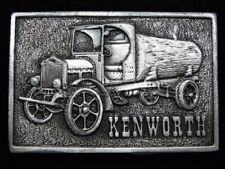 OC25129 VINTAGE 1976 **KENWORTH** TRUCK COMPANY PEWTER BERGAMOT BELT BUCKLE