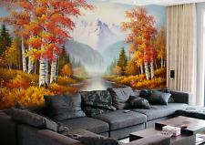3D Painting pine 125 WallPaper Murals Wall Print Decal Wall Deco AJ WALLPAPER