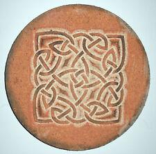 Celtic knot plaque plastic mold for plaster concrete mould casting mold