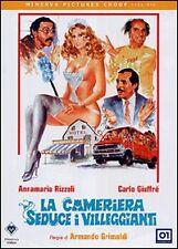 dvd film La cameriera seduce i villeggianti (1980)