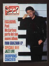 CIAO 2001 18/82 PROG HARD ROCK JAZZ IVAN GRAZIANI SCORPIONS JOHN BELUSHI