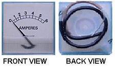 """Amperímetro Para Dc Cargador de batería, escalado:0 - 6a, 2 """"x 2"""""""
