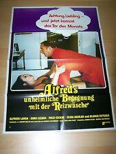ALFREDS UNHEIMLICHE BEGEGNUNG MIT DER REIZWÄSCHE - Kinoplakat A1 (B)