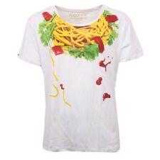 C0910 maglia uomo HAPPINESS vintage bianco multicolor t-shirt men