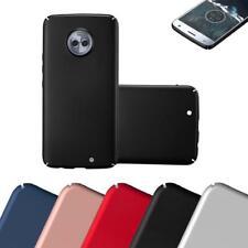 Schutz Hülle für Motorola MOTO X4 Handy Hard Cover Case Matt Metallic Bumper