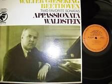 WALTER GIESEKING-BEETHOVEN:APPASSIONATA,WALDSTEIN-VG++