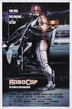 RoboCop 1987 Retro Movie Poster Print A0-A1-A2-A3-A4-A5-A6-MAXI 590