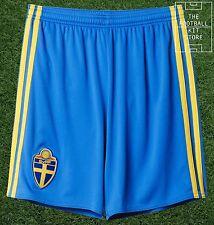 Sweden Home Shorts -  Official adidas Football Shorts - Boys