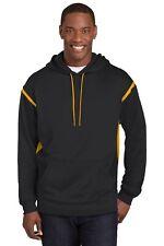 Sport-Tek  Tall Tech Fleece Colorblock Hooded Sweatshirt. TST246