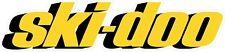 #G113 (1) Ski-doo Logo Racing Decal Sticker Fully Laminated Trailer Wall