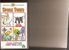 SPACE TUNES VIDEO VHS KIDS 6 LOONEY TUNES CARTOONS