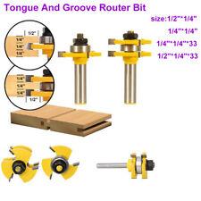 4pc Woodwork blade Plastic Router Bit Set Kitchen Workshop Cutter work top bits