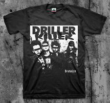 DRILLER KILLER 'Brutalize' T shirt (D-Beat Wolfbrigade Doom Disfear)