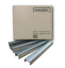 Nagel 50 | 6-20 mm | Heftklammern * 5.000 Stück