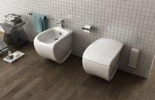 Bidet Bagno Terra monoforo moderno design Hi-Line in ceramica