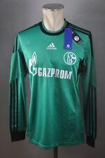 FC Schalke 04 Trikot #7 Meyer Gr. M / L / XL adidas formotion S04 2013-2015 grün