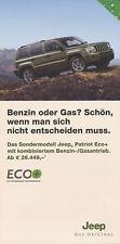 JEEP PATRIOT ECO + prospekt 7/08 brochure 2008 brochure auto automobili auto prospetto