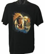 Native American Indian Animals T-Shirt (Regular and Big Mens Sizes)