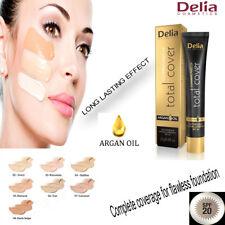 Delia Cosmetics Total Cobertura Cubierta para IMPECABLE Base Maquillaje Up