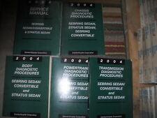 2004 Chrysler Sebring SEDAN Service Shop Repair Workshop Manual Set FACTORY OEM
