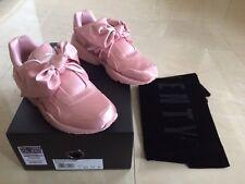 Puma Rihanna Pink Bow Zapatilla Entrenador Shoestring todos los tamaños Reino Unido 3 4 5 Nuevo