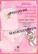 Sous vêtements DIDDL t-shirt + slip fille DIDDLINA rose bretelles sous vêtements