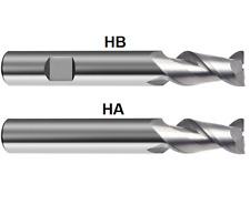 2mm Vollhartmetall Fräser Radiusfräser Kunststoff Holz VHM Schaft=3,2x40mm Z=2