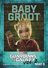 Guardianes de la galaxia ~ Groot bebé ~ carteles opción 16-A3 y A4