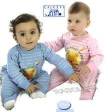 Tuta Tutina Winnie The Pooh Pigiama Disney tg. 12 -18 mesi Azzurro Caleffi