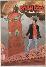 cartolina DYLAN DOG TRA FAVOLA E INCUBO tiferno comics 2007 città di castello