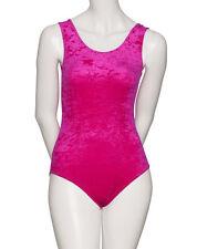 All Colours Dance Gymnastics Velour Velvet Sleeveless Leotard KDGV046 By Katz