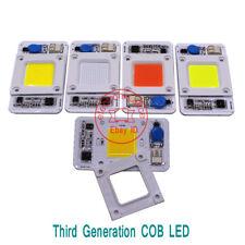 50W Hydroponice DOB AC LED COB Chip F Grow Plant Light Full Spectrum AC220V 1-10
