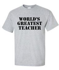 World's Greatest Teacher Shirt - Awesome Teacher T-Shirt - Teacher Gift T-Shirt