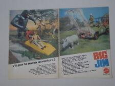 advertising Pubblicità 1977 BIG JIM MATTEL SAFARI