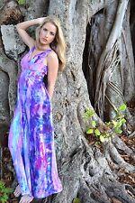 J.Crew Sophia Maxi Dress Silk Summer Resort Bridesmaid Blue Pink Purple 6 10 NEW