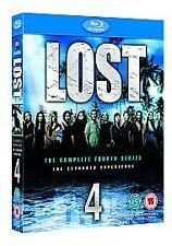Lost komplette Staffel 4 Blu ray Box Set Brand Neu Versiegelt Saison UK 4th vierte