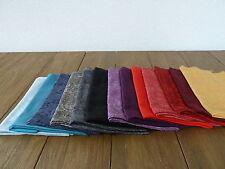 Schals und Tücher JACQUARD SCHAL, 70x190 Paisley Muster Uni Stola bitte wählen