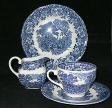 Enoch Angleterre wedgwood tunstall woodland Blue Bleu diverses pièces au choix