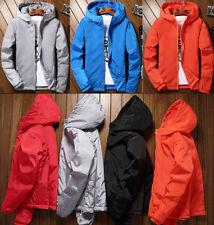 Winter Men Warm Down Jackets Snow Padded Hooded Coats Oversize Parka Light S-7XL