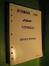 YAMAHA YZFR6 X / XC SERVICE MANUAL BOOK OEM # LIT-11616-21-61